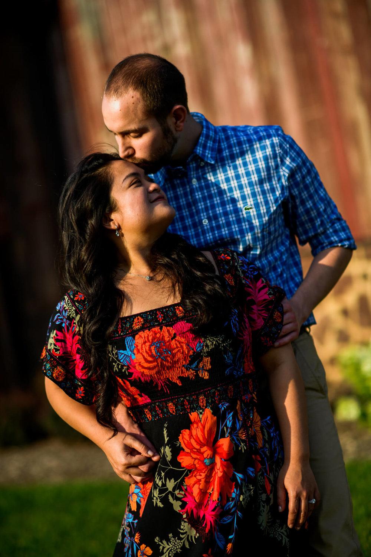Lhynette Sean Bull Run Winery Manassas VA Engagement-131.jpg