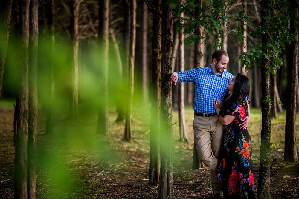 Lhynette Sean Bull Run Winery Manassas VA Engagement-149.jpg