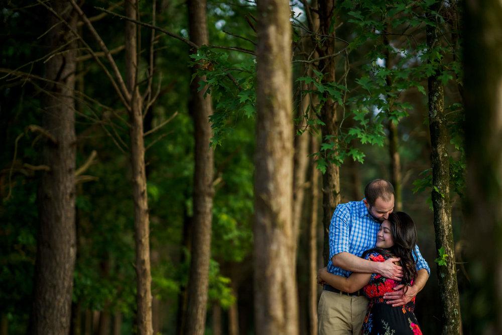Lhynette Sean Bull Run Winery Manassas VA Engagement-158.jpg