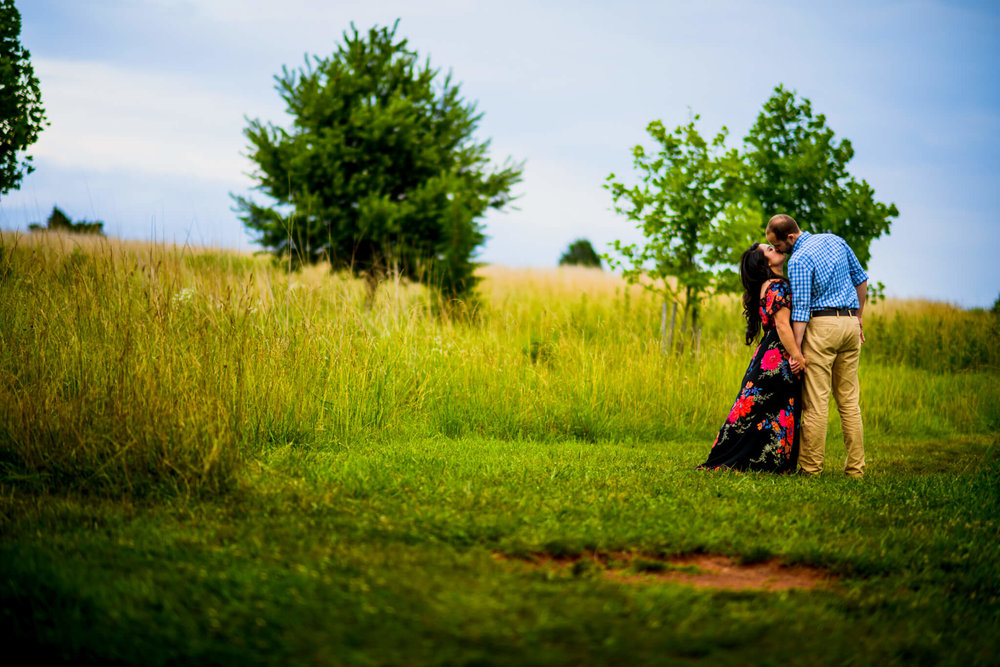 Lhynette Sean Bull Run Winery Manassas VA Engagement-167.jpg