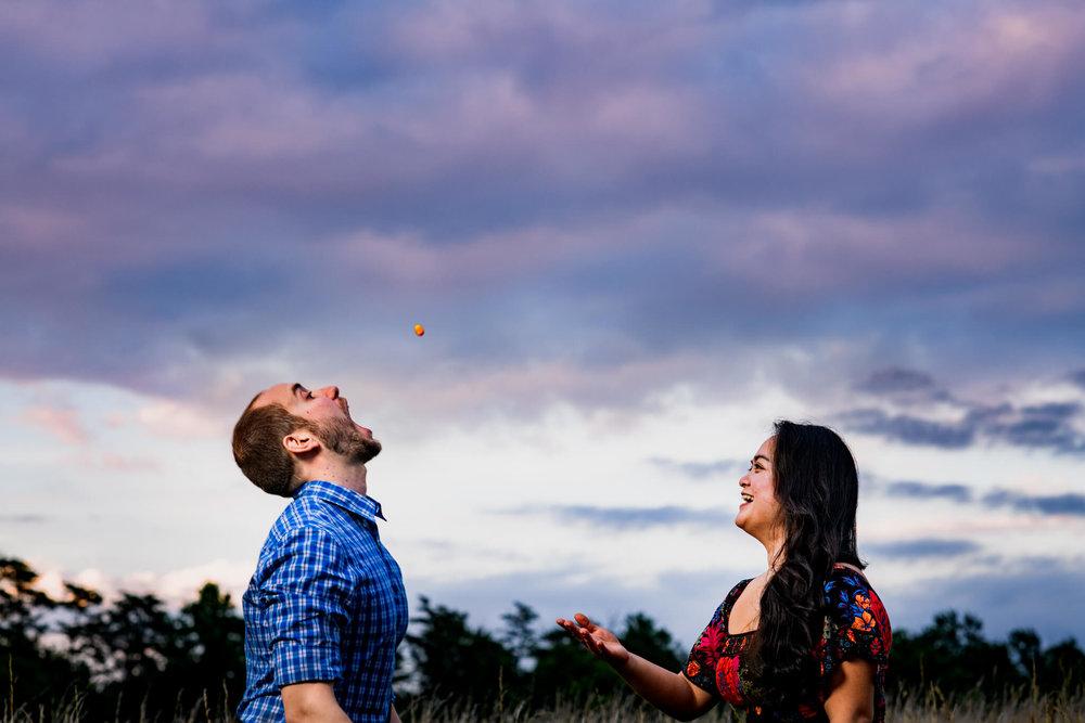 Lhynette Sean Bull Run Winery Manassas VA Engagement-254.jpg