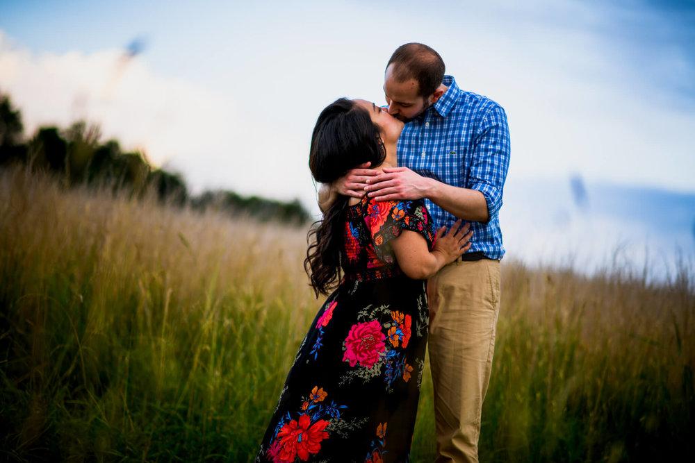 Lhynette Sean Bull Run Winery Manassas VA Engagement-214.jpg