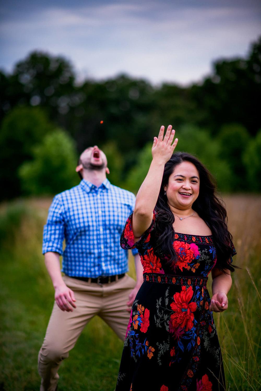Lhynette Sean Bull Run Winery Manassas VA Engagement-260.jpg