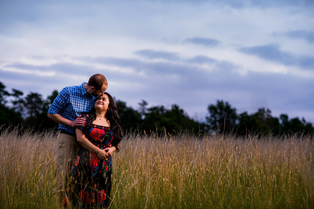 Lhynette Sean Bull Run Winery Manassas VA Engagement-270.jpg