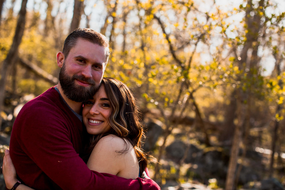 Lisa Jonathan Great Falls Park Virginia Engagement-141.jpg