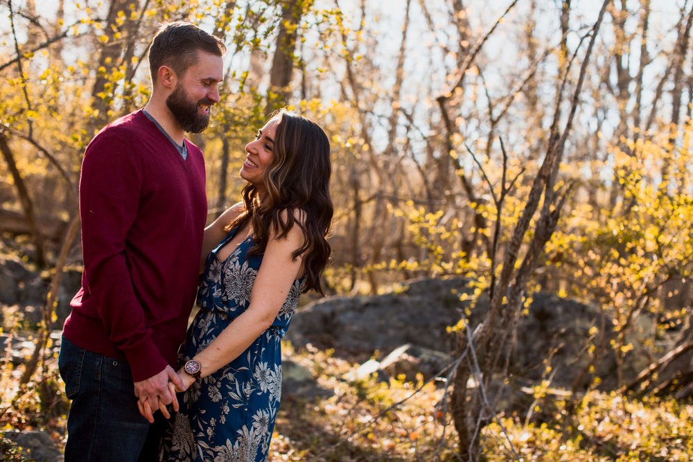 Lisa Jonathan Great Falls Park Virginia Engagement-145.jpg