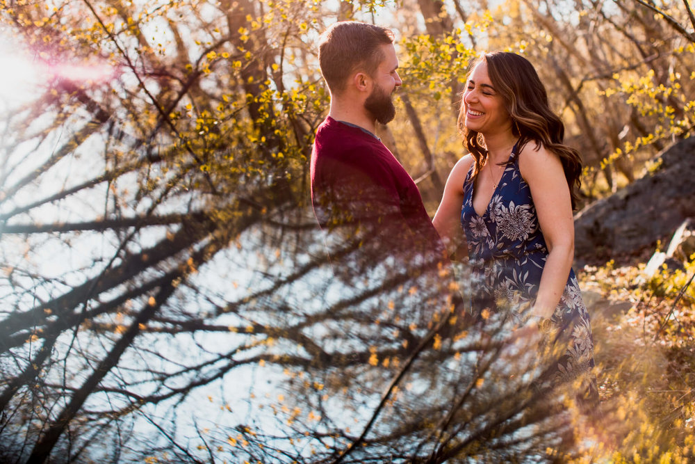 Lisa Jonathan Great Falls Park Virginia Engagement-148.jpg