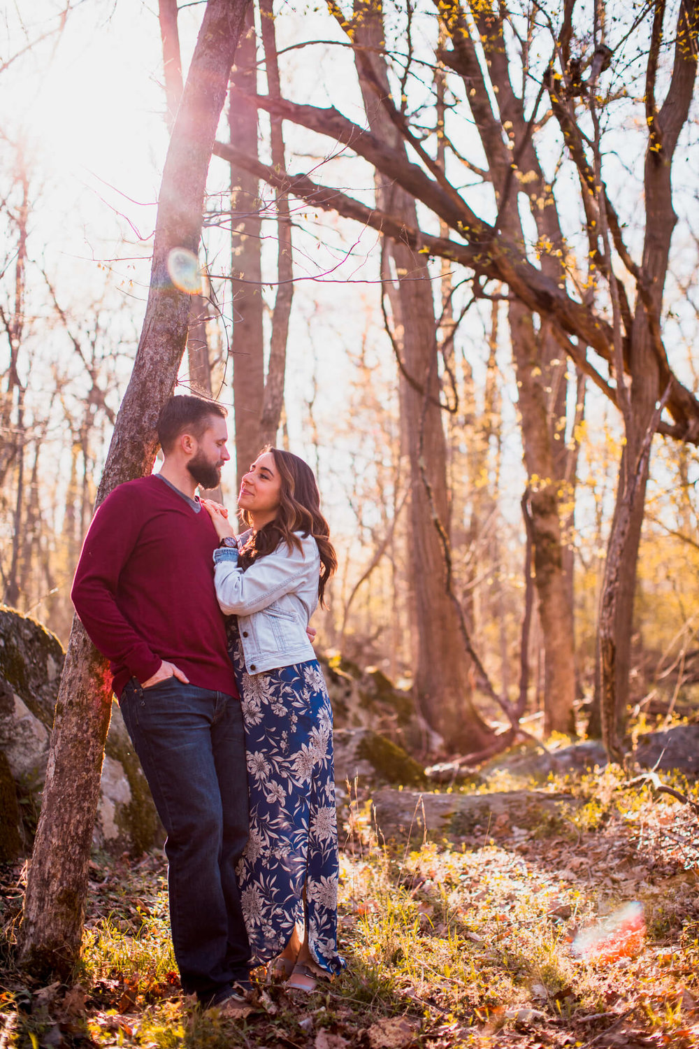 Lisa Jonathan Great Falls Park Virginia Engagement-163.jpg