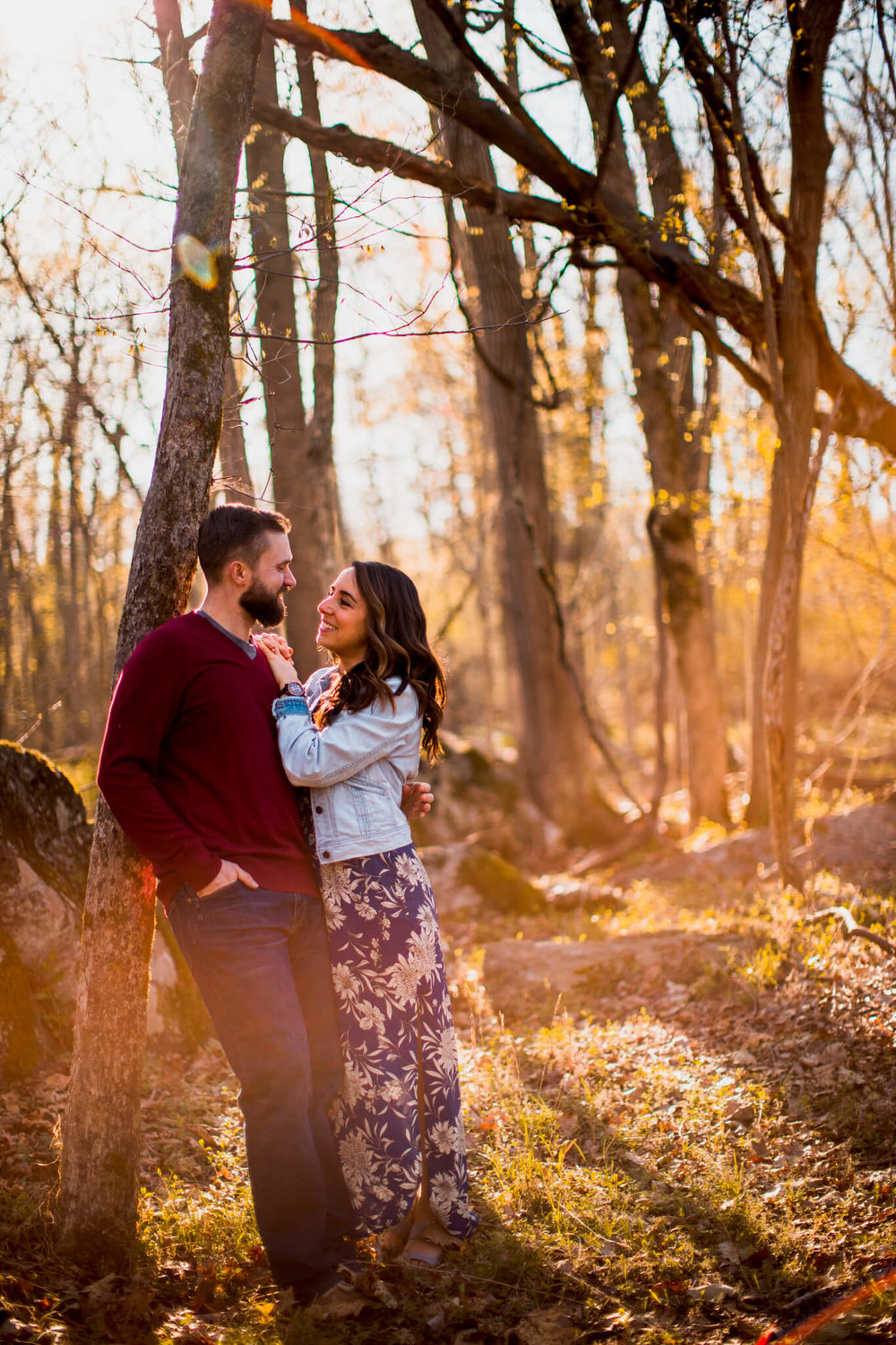 Lisa Jonathan Great Falls Park Virginia Engagement-170.jpg