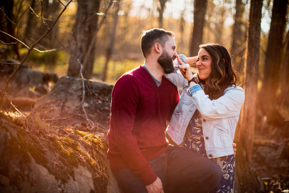 Lisa Jonathan Great Falls Park Virginia Engagement-206.jpg