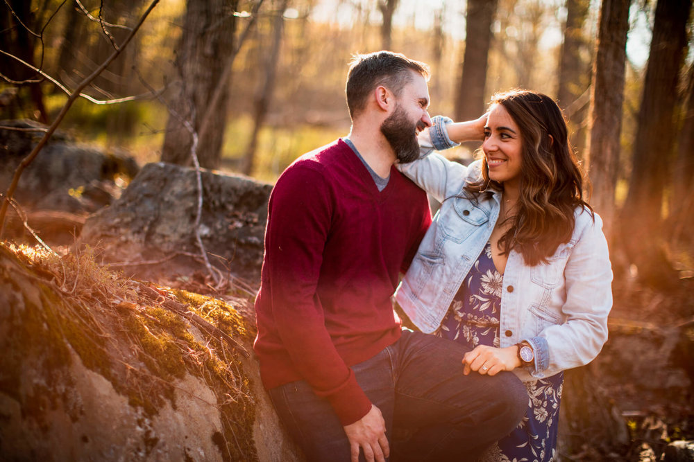 Lisa Jonathan Great Falls Park Virginia Engagement-209.jpg