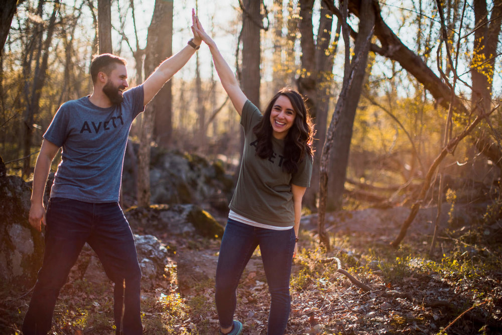 Lisa Jonathan Great Falls Park Virginia Engagement-219.jpg