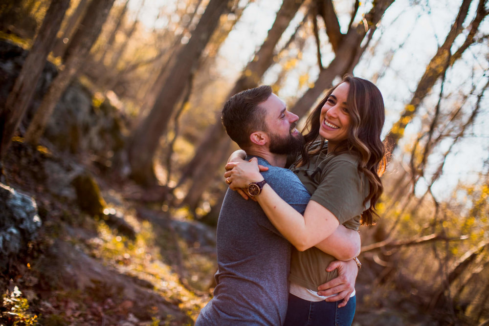 Lisa Jonathan Great Falls Park Virginia Engagement-239.jpg