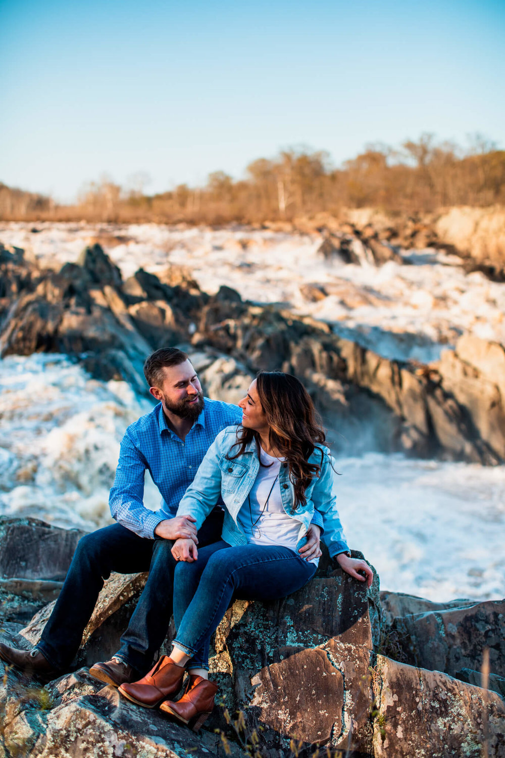 Lisa Jonathan Great Falls Park Virginia Engagement-264.jpg