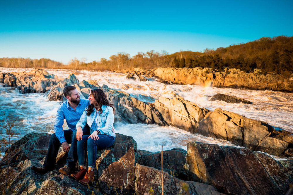 Lisa Jonathan Great Falls Park Virginia Engagement-268.jpg