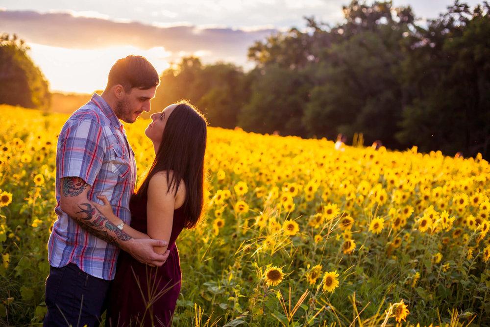 Alysia Jerad Sunflower Field Engagement-5.jpg