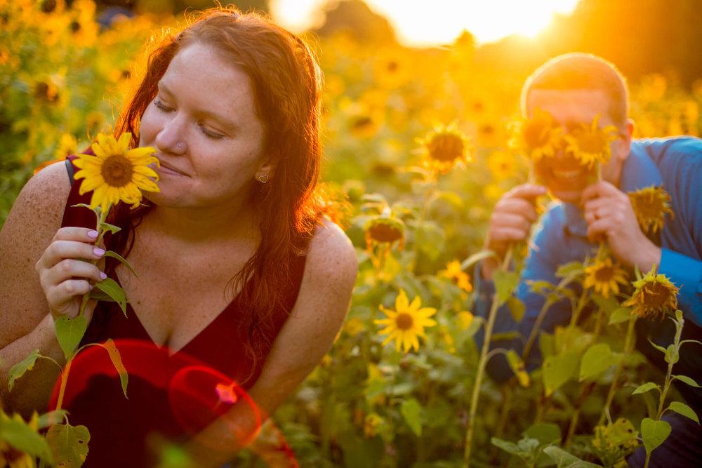 Valerie Daniel Sunflower Engagement-5.jpg