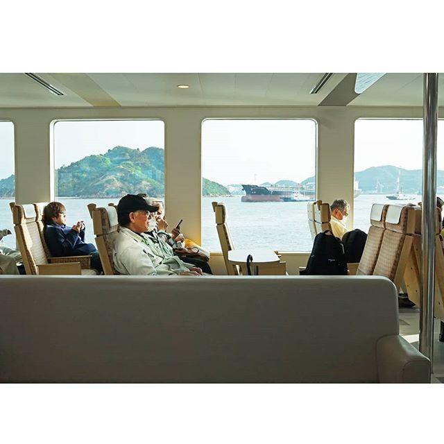 Following our jam-packed day wandering the wonderful contemporary art and architecture of Naoshima, we were grateful that it's only a short ferry ride back to the mainland across the sea. . . . . . #megalopolist #travelandlife #athomeintheworld #passportready #lastlight #writetotravel #travellinggram #instatraveller #borntotravel #wanderlusters #travelmoments #travelforever #wanderlost #addictedtotravel #travelogue #far_eastphotography #japan_art_photography #visitjapan #mytinyatlas #fantastic_earth #mytravelgram #exploremore #globetrotter #traveldeeper #traveltheworld #photography_lovers #photographytravel #photographylife #meettheworld #suitcasetravels