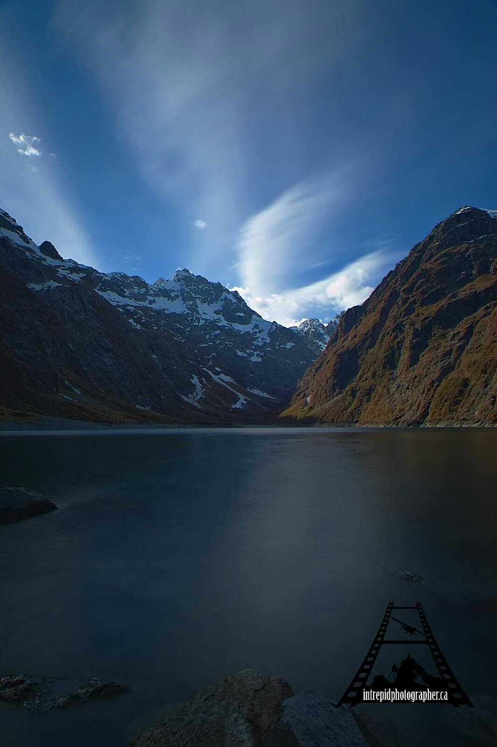 Lake Marian, Fiordland National Park, New Zealand