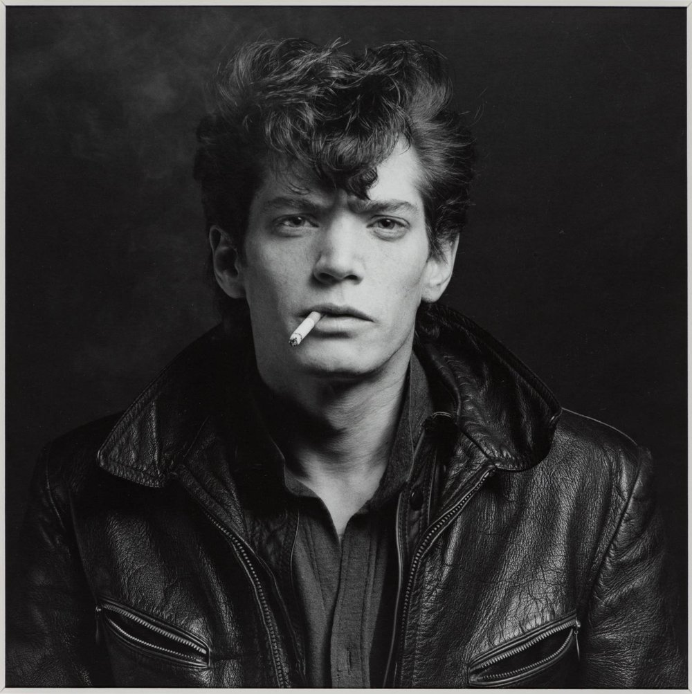 "2. ""Self Portrait"" - Robert Mapplethorpe - Corresponding song: Orchard"