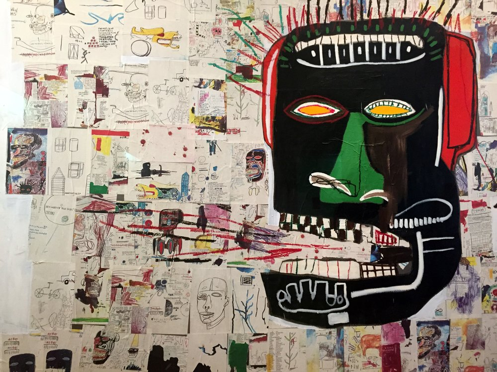 "8. ""Glenn"" - J-M Basquiat - Corresponding song: While you were Sleeping"