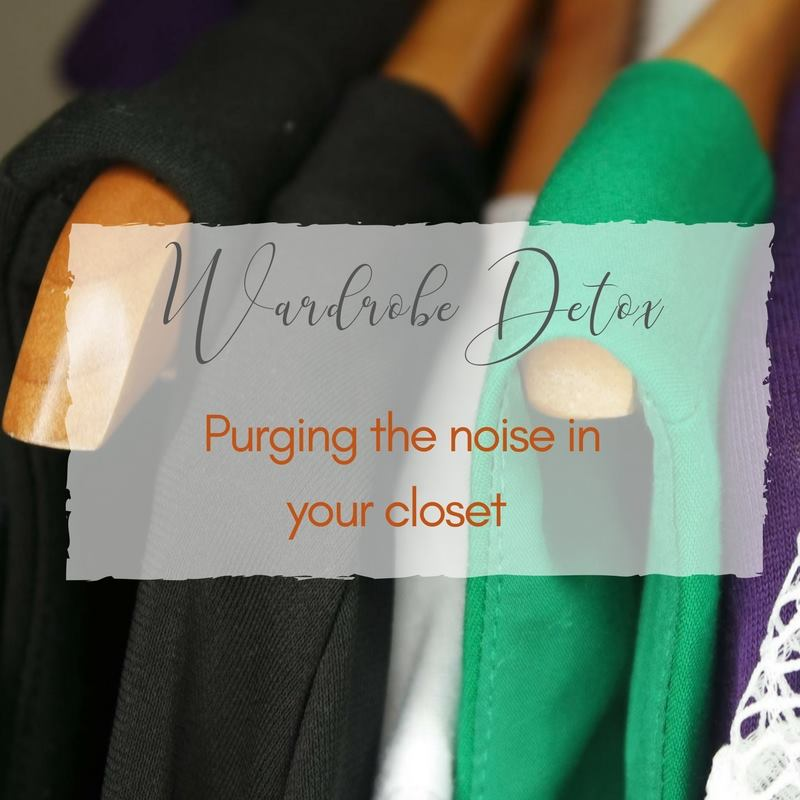 Wardrobe Detox: Purging the Noise In Your Closet