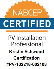 NABCEP Certified PV Installer Seal