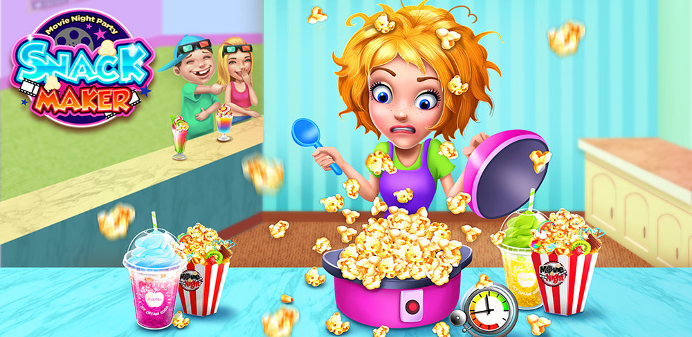 Movie Night Snack Maker Get ready to take up this challenge and provide the best service for your customers! I believe you won't let them down!