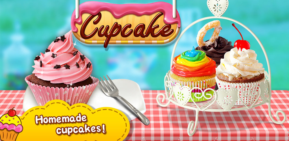 Wedding Cupcake - Bakery Salon  You don't need anything other than your fingers to enjoy a sweet baked treat, as these tasty foods are filled with cake!