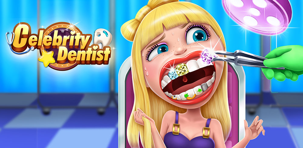 Celebrity Dentist  There are so many fans that want pictures of your favorite stars... help them ALL get shiny sparkling teeth so they can show off their famous smile for all their fans!