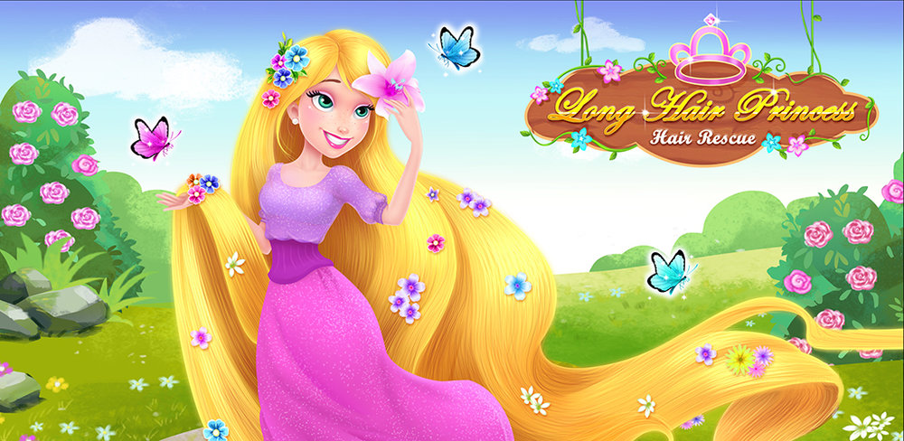Long Hair Princess - Prince Rescue  The queen gave birth to a princess that had hair with special healing powers. We call her the long hair princess. The evil witch stole the princess ...