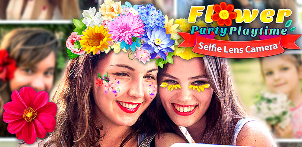 Flower Selfie Cam - pics, camera & special lenses  The app works like a real mirror - when you turn your head or change your expression, face-tracking technology makes sure your makeover moves with you...