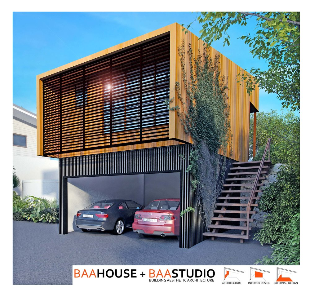SEVEN HILLS SMALL HOUSE