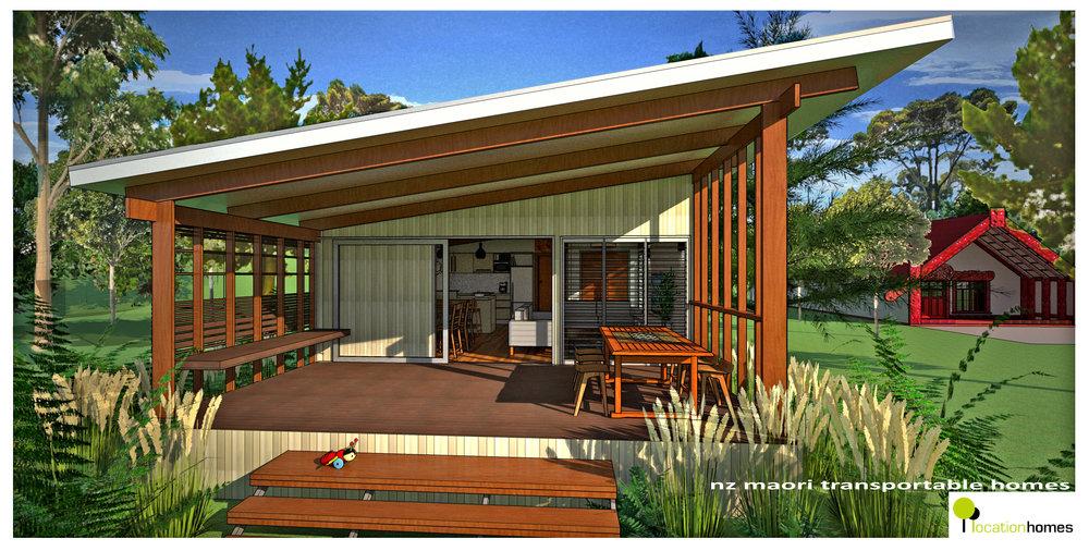 NZ MAORI HOUSE