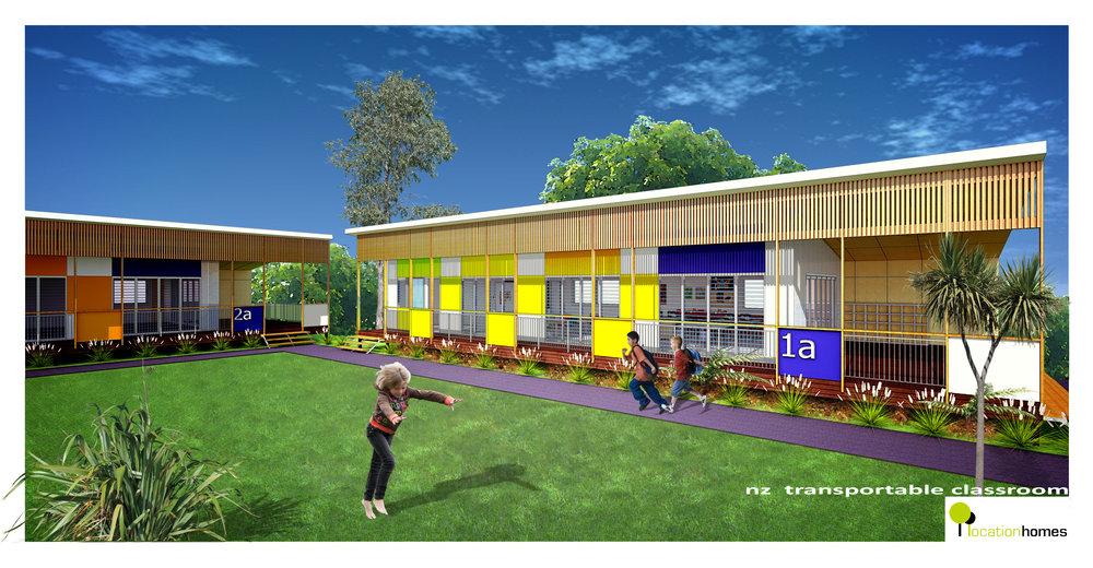 NZ PRE-FAB SCHOOL