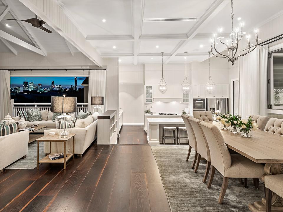Hampton interiors Brisbane