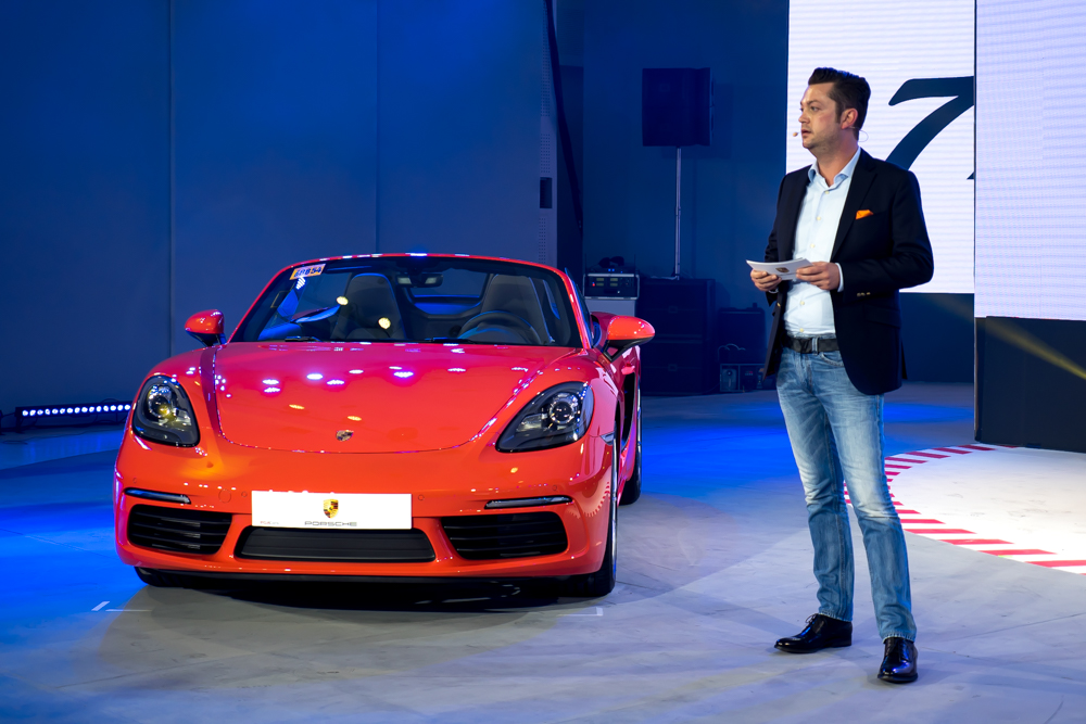 Alexander Schuchert - Porsche Asia Pacific,Regional Sales Manager