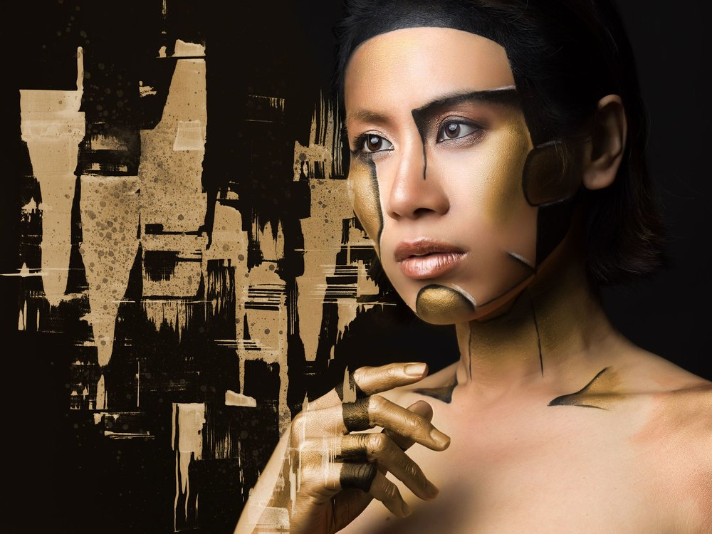 Cover Picture : MixMedia Copyright © 2017 Jean-Charles Photography & Yiting Sung. All Rights Reserved.  model : Yiting Sung Abstract Painting : Yiting Sung Make Up Artist : Julie Stock Location : THIRTY9 Studios Photographer / Retoucher : Jean-Charles Lefevre