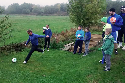Sheffield footgolf rules