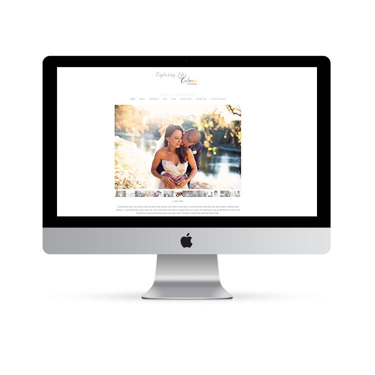Beautiful squarespace website design