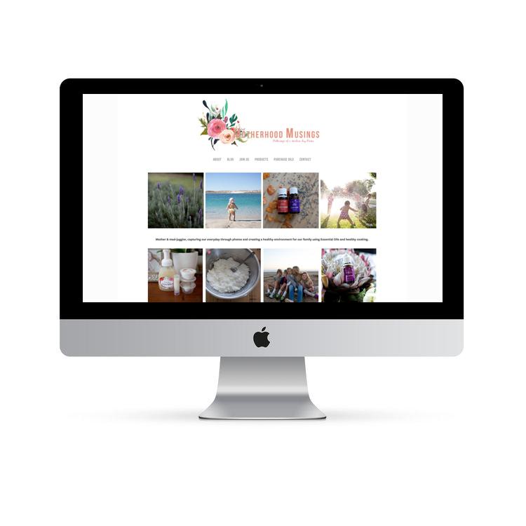 Essential Oil Website Design Perth