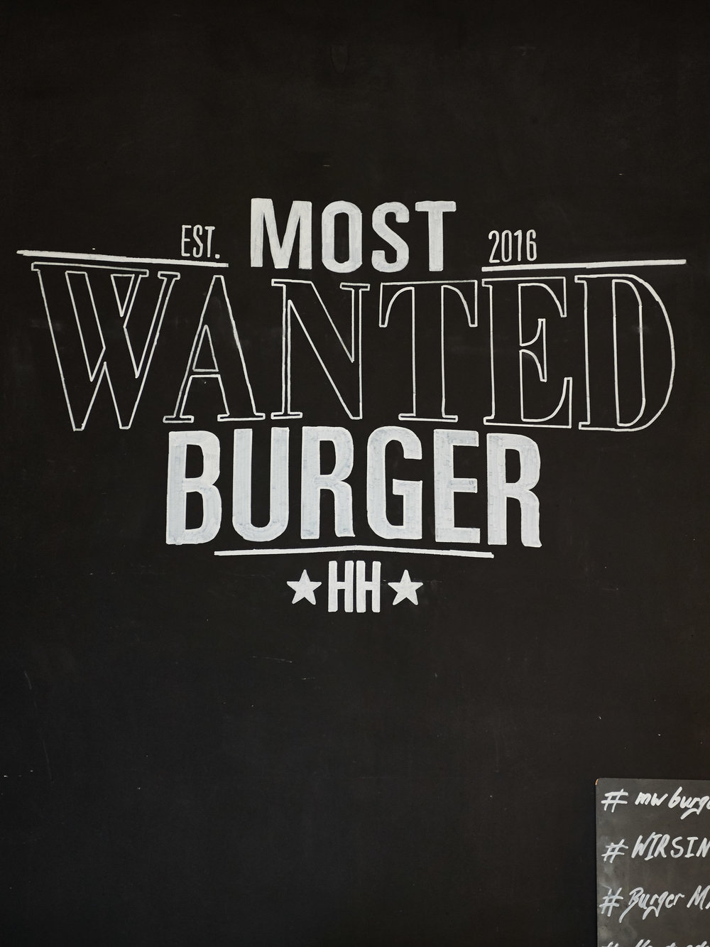 Most Wanted Burger