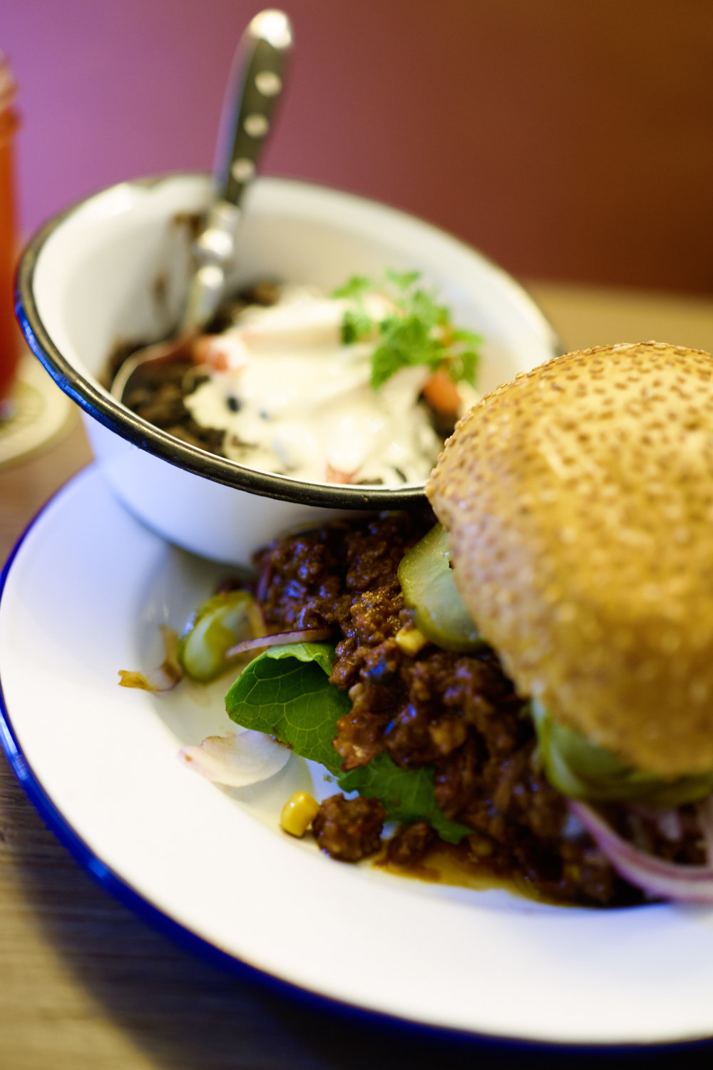 Chili con Carne Burger