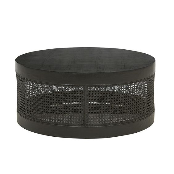 Anja Woven Coffee Table available through Minted Interiors email tess@mintedinteriors.com Image: GlobeWest