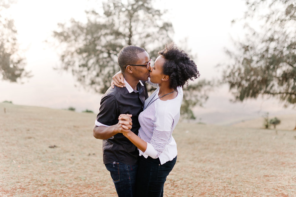 Nairobi Ngong Hills Couple Shoot