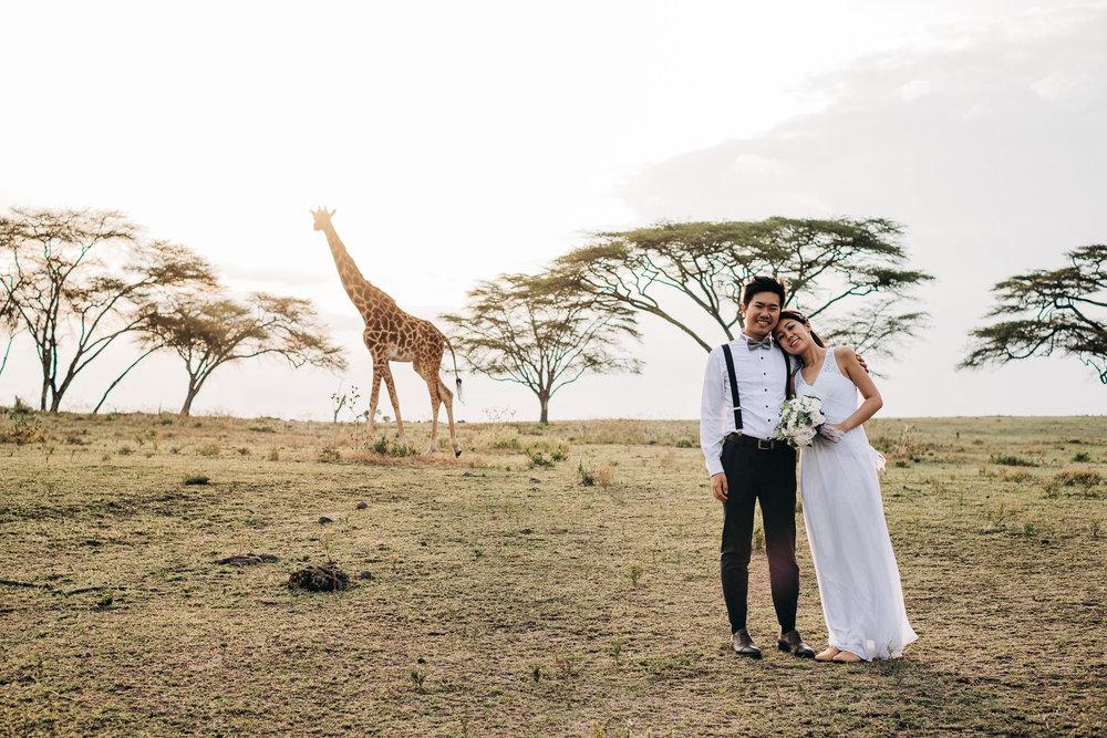 Safari Wedding Kenya