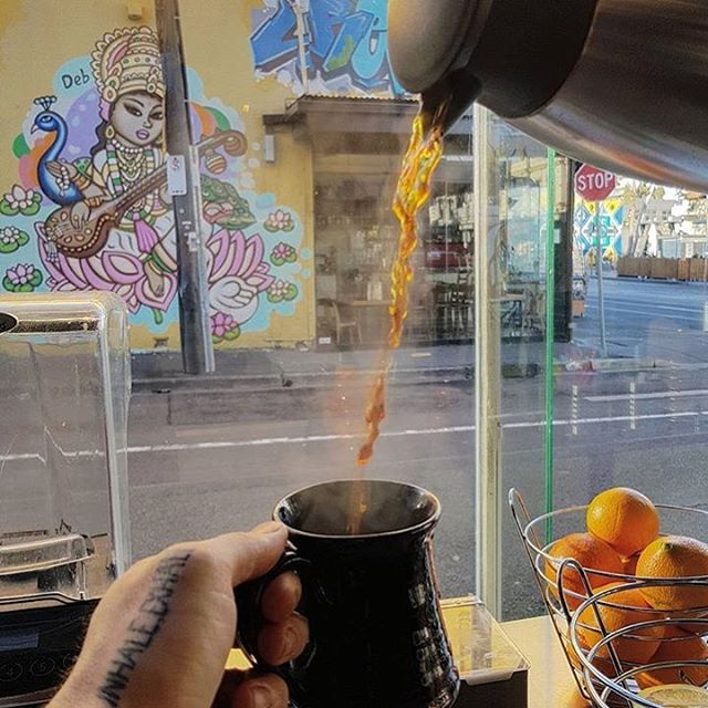 Nectar of the gods. ☕️#filterdcoffee 📷 @jarrodthebarrister