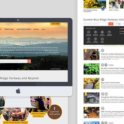 Blue Ridge Parkway Foundation Website