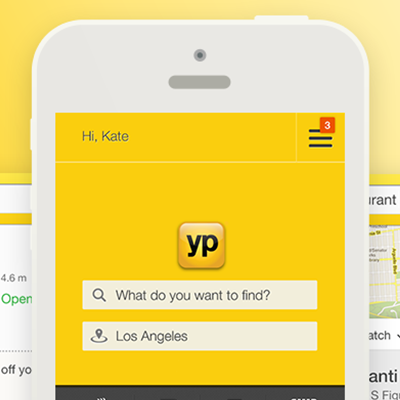 Yellow Pages Mobile Web