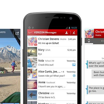 Verizon Messaging Design